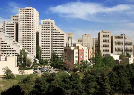 یکی از نمونه کارهای عکاسی شرکت همورا پروژه مسکونی باغ بهشت میباشد. این عکس از نمای خارجی مجتمع گرفته شده است.