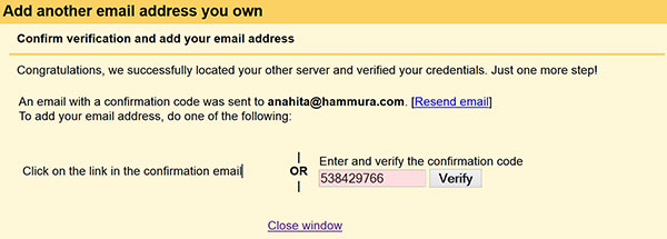 اضافه کردن آدرس ایمیل جدید به آدرس ایمیلها