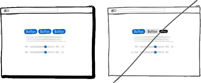 ثبات در UI