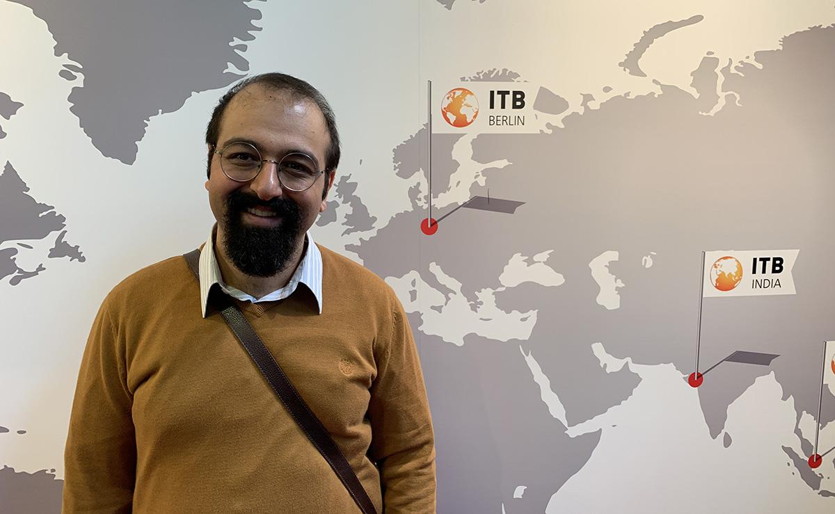 حضور آقای اسلمی در نمایشگاه ITB